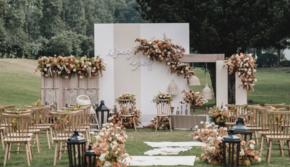 艾潇婚礼 |爱恋 | 户外草坪