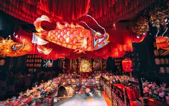 五鱼戏莲——传统唐制婚礼
