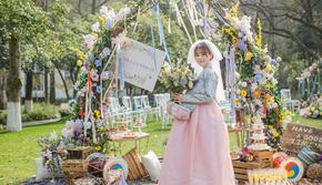 伯妮婚礼 | 甜美户外小清新婚礼 浪漫草坪婚礼
