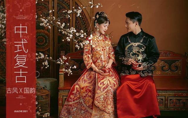 古摄影【中式国风】秀色东方国风新潮中式腔调婚纱照