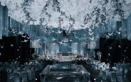 【爱度婚礼】气质蓝色婚礼—高贵简约