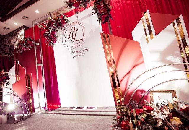 【最强喜事】新式红金系婚礼❤红玫瑰の爱