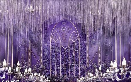 【june】主题:紫色城堡