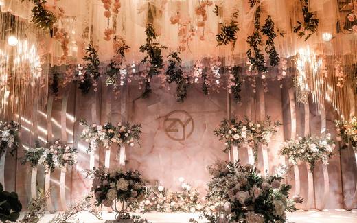 柏林婚典I香槟色细节感满满的婚礼