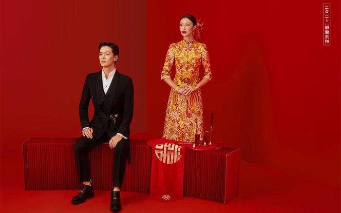 【东方嫁衣】中式婚照+拍一套送一套