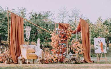 【三亚在四月海岛婚礼】草坪婚礼