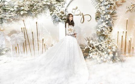 飞凌婚礼丨纯白干净少女风婚礼