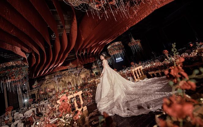 【为爱加冕】婚礼中的女王范儿