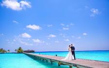 马尔代夫♥蜜月旅拍♥一对一拍摄♥包酒店♥接机