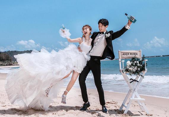 【国庆黄金档】送新娘婚纱+拍1送6+多风格畅拍!