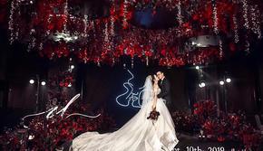 【红与黑Ⅱ】暗场红黑简约大气婚礼