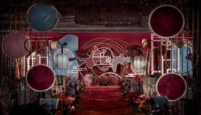 《红萝》红蓝色系古典婚礼