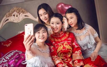 【丝壹婚纱】2019年新款中式嫁衣