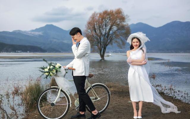 丽江旅拍婚纱照唯美小清新客分享---唯你心心念念