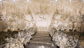 香槟吊顶网红包四大婚庆婚纱一条龙