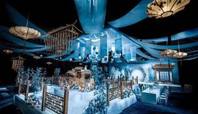 【梦幻季】超唯美蓝色新中式《盛世》布置/首席人员