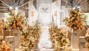 【匠心婚礼】高新水晶岛一价全包大馈赠婚礼现场