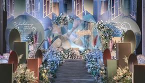 【蕊结婚礼】马卡龙时尚婚礼策划网红设计款婚庆套餐