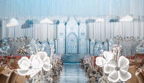 【春季特惠套餐】梦幻蓝色城堡婚礼