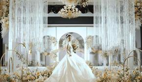 【澄一婚礼】大气唯美浪漫香槟色婚礼