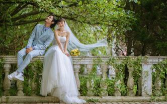【人气爆品】幸福甜蜜主题+定制故事化婚照
