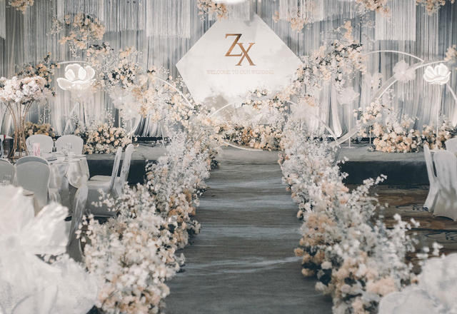 【梦工场作品】简·线--现代简约设计感婚礼
