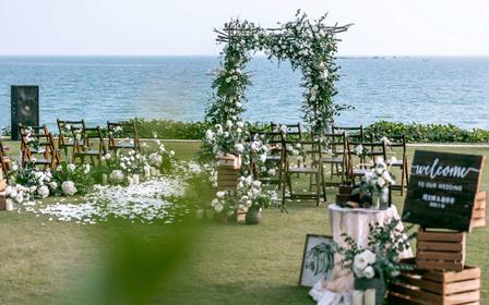 20人一站式海边婚礼套系一价全包
