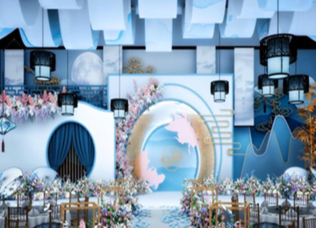《入梦》新中式水墨风大气、新中式、高端、优雅