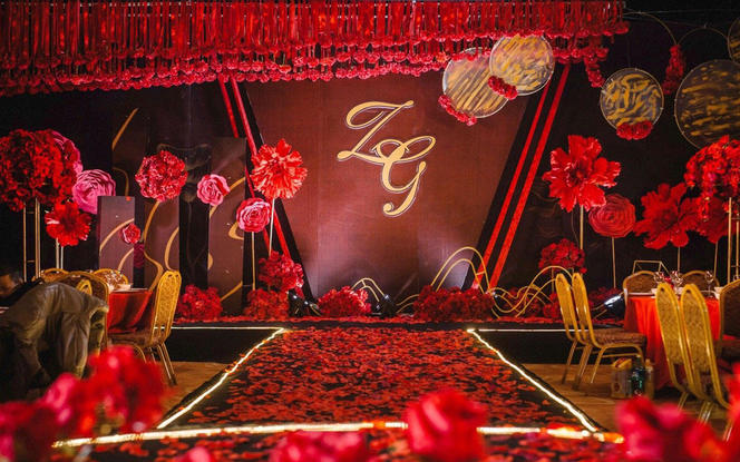 【NI婚礼案例】红色婚礼
