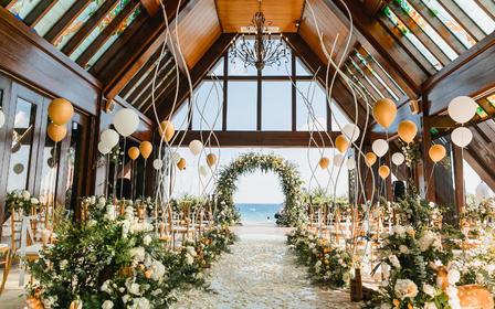 【三亚海之恋网红教堂】一价全包一站式海岛婚礼