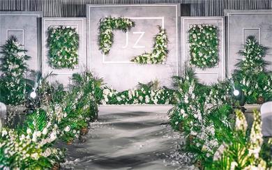 【BLOVE婚礼定制】灰色大理石婚礼
