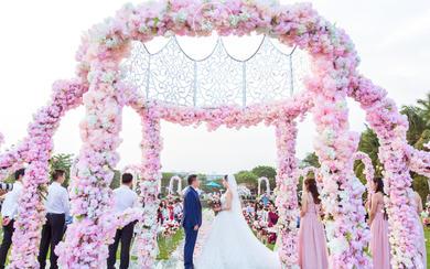 三亚大海边海岛梦幻婚礼|私人订制