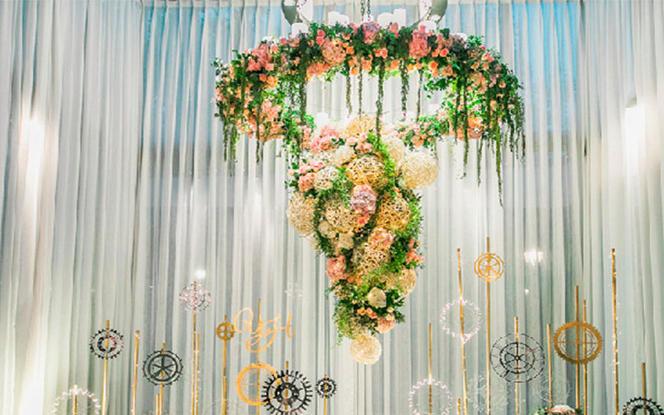 小型婚礼之选花艺精致细节满分小资首选