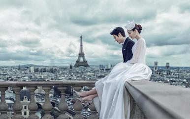 """【十八大热门外景】穿着婚纱,嫁给爱情""""无忧拍摄"""