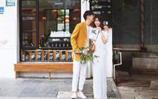 【厦门】海边小清新文艺青年喜爱的婚照+专车跟拍