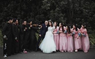【胡子哥哥】本人亲拍 单机位纪实婚礼摄影
