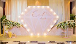 50-80人小型婚礼之选 静谧香槟色系婚礼