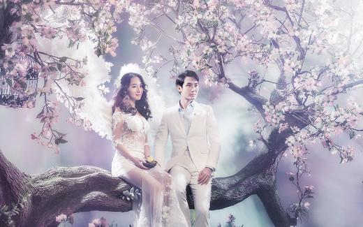韩式内景——巴黎世家婚纱摄影