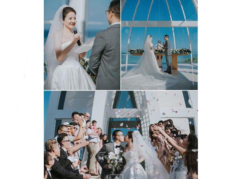 人气摄影总监双机位婚礼拍摄多角度记录唯美婚礼