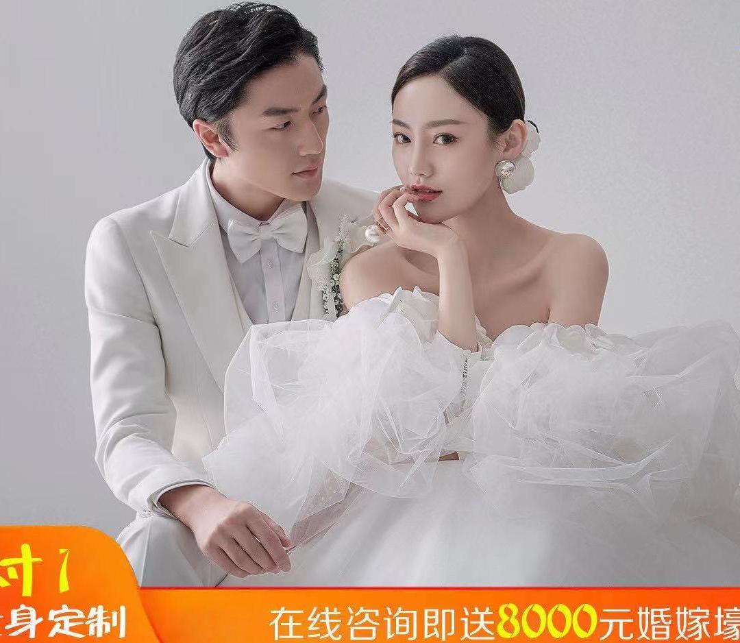 台北新娘【高定婚纱照】送结婚当天服务
