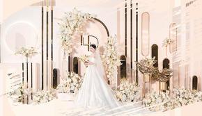 【香槟色系婚礼】 年度最爱简约风