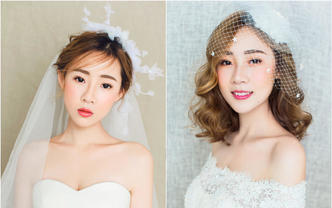 大麦新娘造型 高级化妆师 订婚妆/回门妆/晚宴妆
