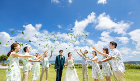冲绳天空教堂婚礼策划婚礼套餐