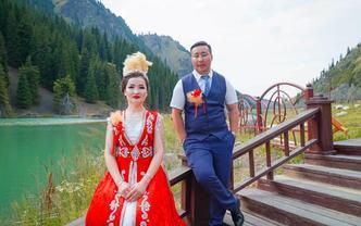 哈萨克族婚礼摄影摄像套餐