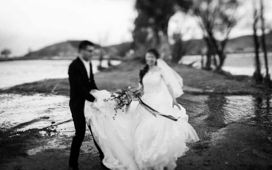 大理目的地婚礼--洱海边户外