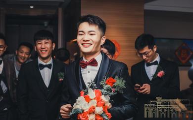 新娘实拍婚礼当天3件套