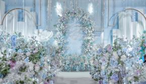 品质特价|含人员·每日限量一场>梦幻蓝色婚礼