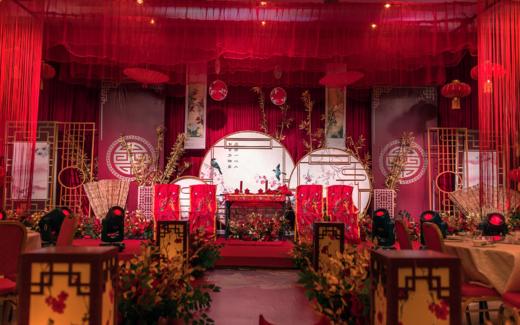 中式婚礼——洪府娶妻,黄府嫁女