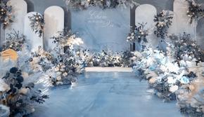 【人气爆款套餐】蓝色唯美婚礼/定制主题/风格任选
