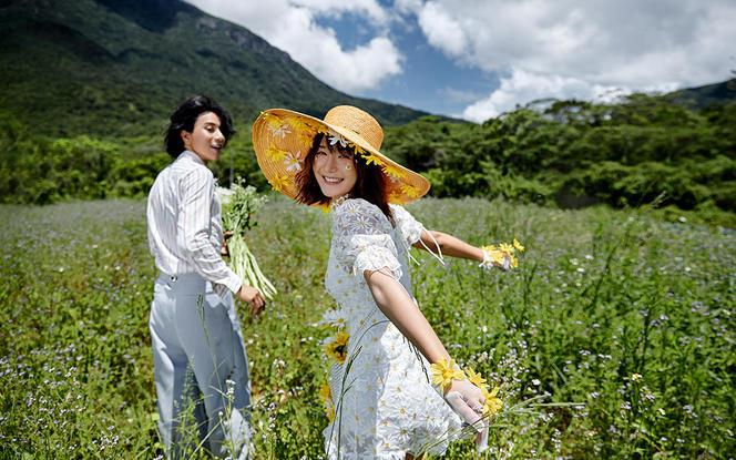 【销量火热】自然森系+外景任选定制婚纱照